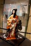Moscou, boneca Russia-12/25/2018 japonesa foto de stock royalty free