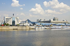 Moscou, centro de exposição Exporcentre Imagem de Stock Royalty Free