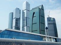 Moscou cidade maio de 2011 foto de stock