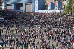 MOSCOU 9 de maio de 2015 70 anos de vitória Imagem de Stock Royalty Free