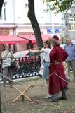 Moscou e os Muscovites nos tempos e nas épocas do festival fotos de stock royalty free