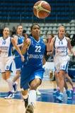 Dynamo-GUVD Novosibirsk Nicole Yvonne Turner de défenseur Photo stock