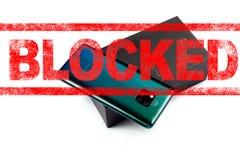 MOSCOU, FEDERA??O RUSSA - 24 de maio de 2019: Ap?s a administra??o do trunfo adicione Huawei a uma lista negra de com?rcio, Googl fotos de stock royalty free