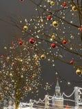 Moscou festiva imagem de stock royalty free