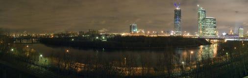 Moscou-fleuve Photographie stock libre de droits