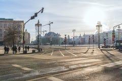 moscou Grand dos de Lubyanka photos libres de droits