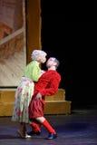 Jeu de V.Yaremenko et de P.Rostova aux sorcières musicales d'Eastwick Photos libres de droits