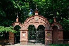 Moscou, Kolomenskoye, cimetière patriarcal de monastère images libres de droits