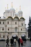 Moscou Kremlin en hiver Église de douze apôtres images libres de droits