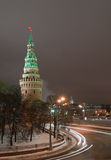 Moscou Kremlin en hiver photos libres de droits