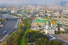 Moscou Kremlin - la Russie images libres de droits