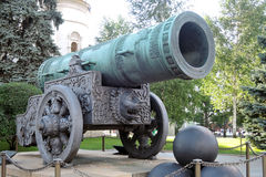 Moscou Kremlin Le Roi Cannon Site de patrimoine mondial de l'UNESCO Images libres de droits