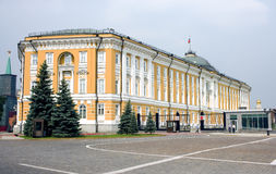 Moscou, Kremlin, le sénat de la Russie photo stock