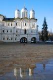Moscou Kremlin Photo couleur Église de douze apôtres Image libre de droits