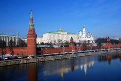 Moscou Kremlin Photo couleur Photo libre de droits