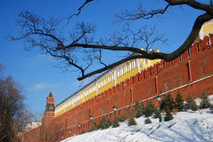 Moscou Kremlin Photo couleur Images stock