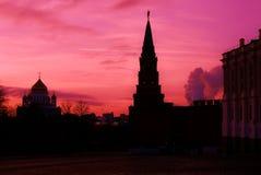 Moscou Kremlin Photo couleur Photos libres de droits