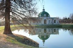 Moscou, Kuskovo, grotte de pavillon Photos libres de droits