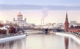 Moscou, l'horizontal municipal photographie stock