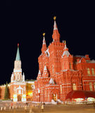 Moscou la nuit 2 Image stock
