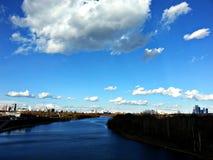 moscou La rivière de Moscou Photo libre de droits