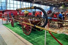 MOSCOU - 9 MARS 2018 : Chariot L du feu Button et Company 1868 à images libres de droits
