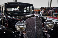 MOSCOU - 9 MARS 2018 : Model de Buick 57 1933 à l'exposition Oldti photos libres de droits