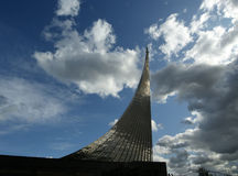 Moscou, monument aux subjugators de l'espace Photographie stock