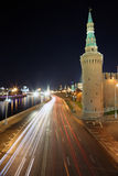 Moscou ne dorment jamais Photographie stock libre de droits