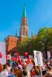 Moscou o 9 de maio Foto de Stock Royalty Free