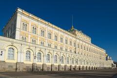 Moscou, palácio grande do Kremlin Imagem de Stock
