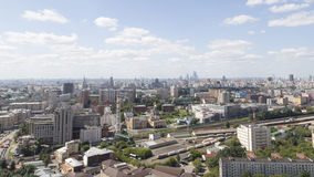 Moscou par temps beau photographie stock libre de droits