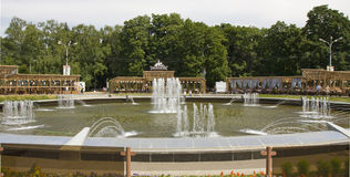 Moscou, parc Sokolniki photo libre de droits