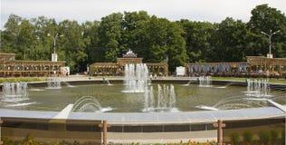 Moscou, parque Sokolniki foto de stock royalty free