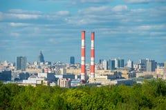 Moscou pendant l'après-midi Images stock