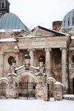 Moscou, propriedade abandonada imagens de stock royalty free