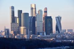 Moscou, Rússia: A cidade de Moscou é um shopping foto de stock royalty free