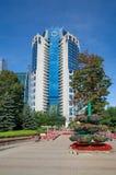` 2000, Moscou, Rússia da Moscou-cidade do ` do centro de negócios do ` da torre do ` Imagem de Stock Royalty Free