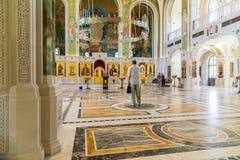 MOSCOU, RÚSSIA - 24 de julho 2017 Igreja em honra da ressurreição de Cristo, de mártir novos e de Confessors da igreja do russo n Imagem de Stock Royalty Free