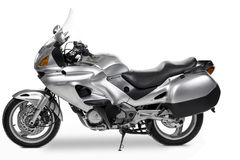 MOSCOU, RÚSSIA - 17 de junho de 2014: Honda Deauville no estúdio Imagens de Stock Royalty Free