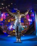 MOSCOU, RÚSSIA - 31 DE MAIO DE 2016: Exposição do museu de espaço Fotos de Stock Royalty Free