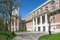 Moscou, Rússia - 7 de maio de 2015: A Museu-reserva Tsaritsyno O palácio grande Foto de Stock