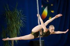 MOSCOU, RÚSSIA - 22 DE MARÇO: Elite 2014 do esporte de Polo o 22 de março de 2014 em Moscou, Rússia Fotografia de Stock