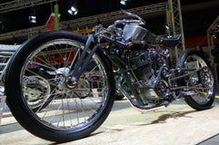 Moscou, Rússia - 17 de março de 2018: A sala de exposição do motocycle igualmente conhecida como Motovesna Fotos de Stock Royalty Free