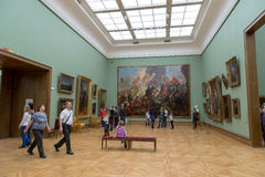 Moscou, Rússia - 5 de novembro de 2015: O estado Tretyakov Art Gallery Foto de Stock Royalty Free