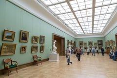 Moscou, Rússia - 5 de novembro de 2015: O estado Tretyakov Art Gallery Imagem de Stock
