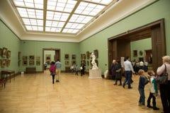 Moscou, Rússia - 5 de novembro de 2015: O estado Tretyakov Art Gallery em Moscou Imagens de Stock Royalty Free