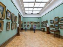 Moscou, Rússia - 5 de novembro de 2015: O estado Tretyakov Art Gallery em Moscou Imagens de Stock
