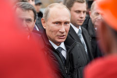 Moscou, Rússia - 24 de novembro de 2015: Vladimir Putin Imagens de Stock Royalty Free