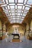 Moscou, Rússia - 21 de novembro de 2018: O museu de Pushkin de belas artes é o museu o maior da arte europeia em Moscou, Rússia imagens de stock